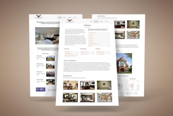 Victus Homes website